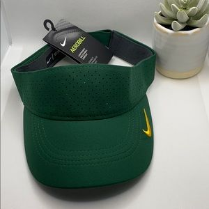 Nike Aerobill Visor Lightweight Green/Gold Adult